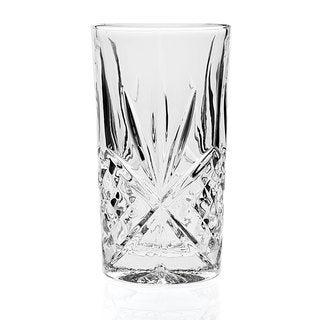 Godinger Dublin Clear Crystal 10-ounce Highball (Case of 12)