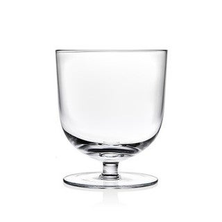 Godinger Rondo Crystal Low Ball Tumbler Set (Pack of 4)