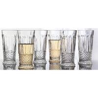 Godinger Medea 10-ounce High Ball Glass Set (Pack of 6)