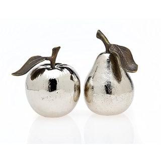 Godinger Silver Metal Apple and Pear Salt and Pepper Shaker