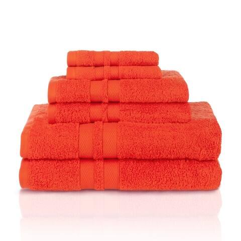 Miranda Haus Ismailia Egyptian Cotton 6-Piece Towel Set