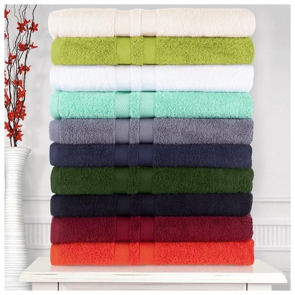 Superior Ultra Soft Premium Cotton 6-piece Towel Set