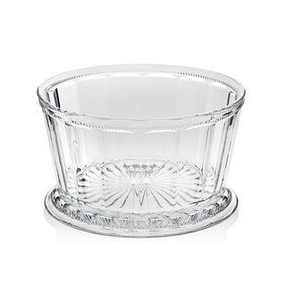 Godinger Hamilton House Clear Crystal 9-inch Serving Bowl