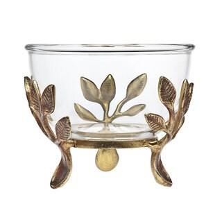 Godinger Laurel Glass Large Bowl
