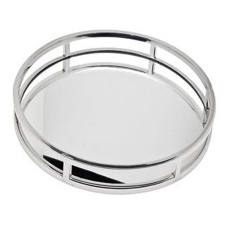 Godinger Aspen Large Round Gallery Tray|https://ak1.ostkcdn.com/images/products/13933114/P20564945.jpg?impolicy=medium