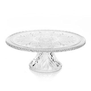 Godinger Dublin Crystal Cake Plate