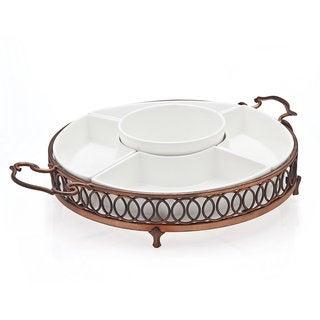 Godinger Hanover Copper 5-part Relish Set