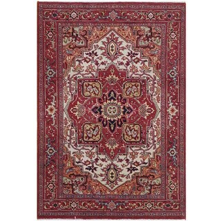 Handmade Serapi Wool Rug (India) - 4'2 x 6'3