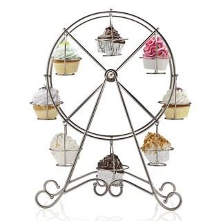 Godinger Stainless Steel Ferris Wheel Cupcake Holder