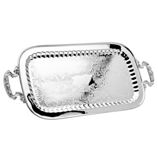 Godinger Silver Metal Cocktail Tray