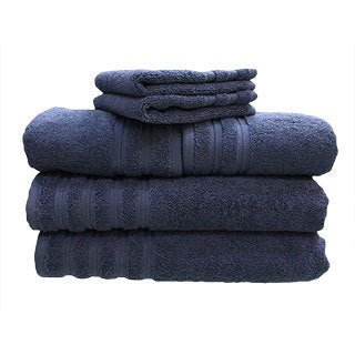 Brentwood 6-piece Cotton Towel Set