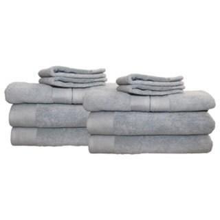 Delano 100% Cotton 12-piece Towel Set
