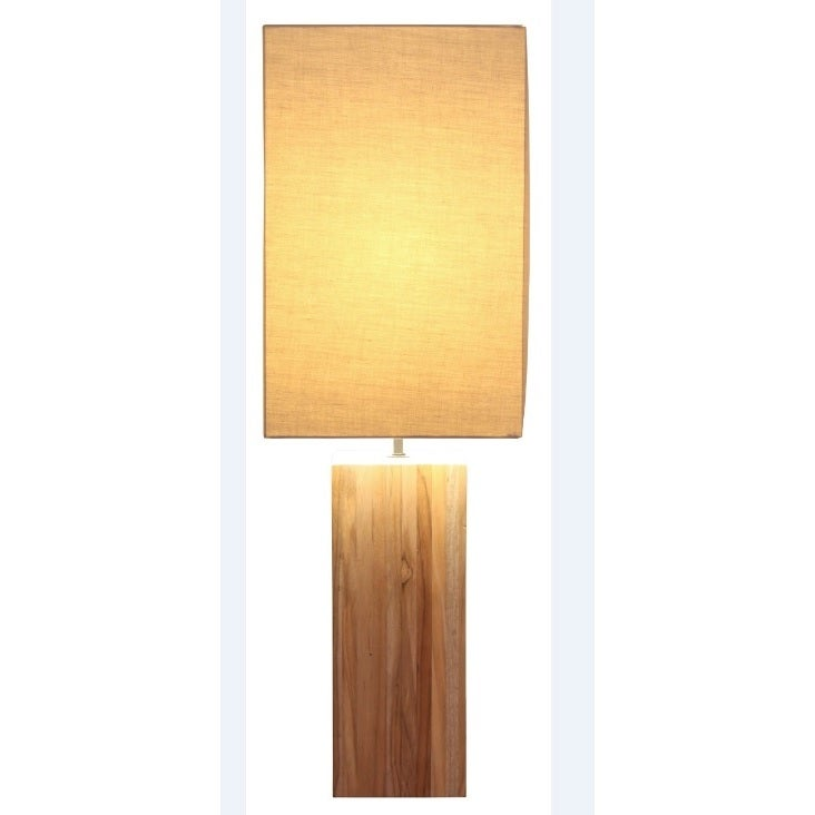 Bellini Modern Living Natural-finish Teak Wood Tall Table...