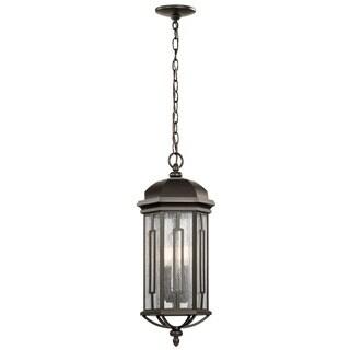 Kichler Lighting Galemore Collection 3-light Olde Bronze Outdoor Pendant