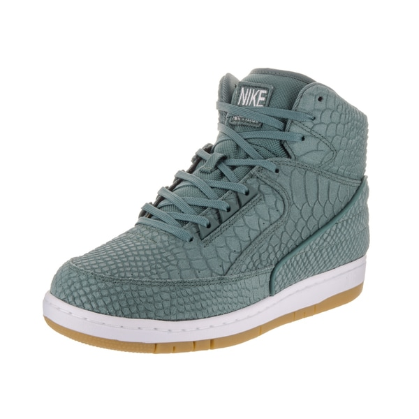 Shop Nike Men's Air Python PRM Green Leather Basketball