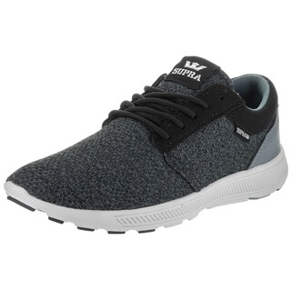 Supra Men's Hammer Run Black Fabric Running Shoes