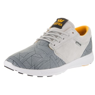 Supra Men's Hammer Run Grey/White Fabric Running Shoe