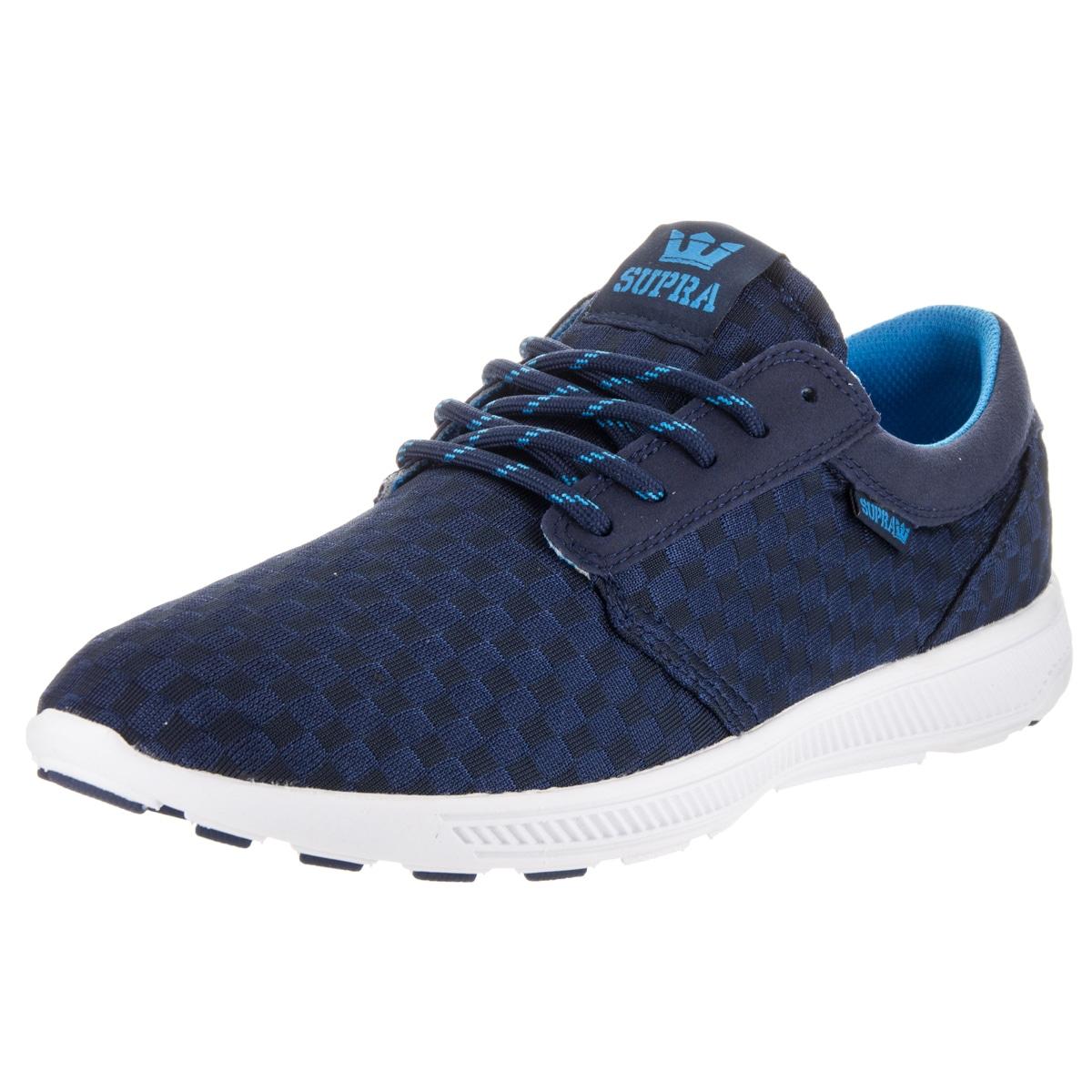 Supra Men's Hammer Run Blue Running Shoes (10) (Fabric)