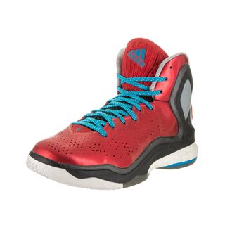 Adidas Men's D Rose 5 Boost Red Basketball Shoe