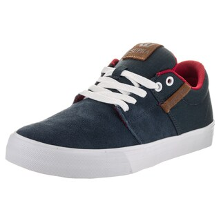 Supra Men's Stacks Vulc II Blue Suede Skate Shoes