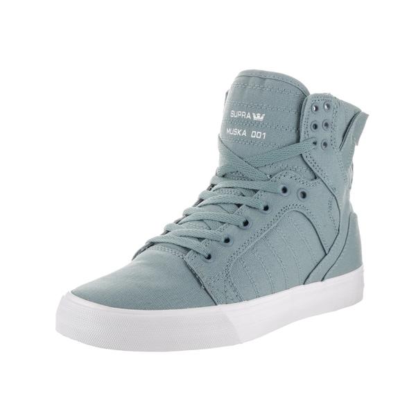 Supra Men's Skytop D Grey Textile Skate Shoes