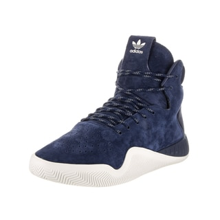 Adidas Men's Tubular Instinct Black Nubuck High-top Casual Shoe
