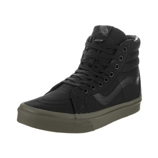 Vans Unisex Sk8-Hi Reissue Vansguard Black Canvas Skate Shoes