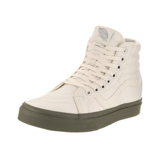 Vans Unisex Sk8-Hi Reissue (Vansguard) White Canvas Skate Shoes