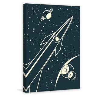 Marmont Hill - 'Deep Space' Painting Print on Wrapped Canvas