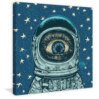 Marmont Hill - 'Alien Eye' Painting Print on Wrapped Canvas
