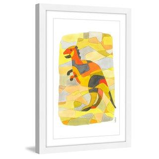 Marmont Hill - Handmade Dinosaur 1 Framed Print