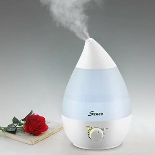 Seneo Super-Quiet Ultrasonic Aromatherapy 2.3L Capacity Output Cool Mist Humidifier