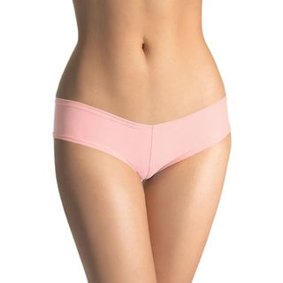 Leg Avenue Light Pink Lycra Small/Medium Booty Shorts