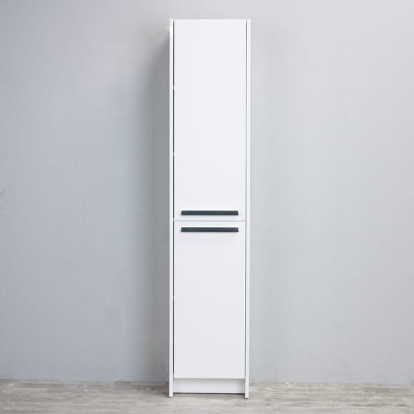 white wooden bathroom furniture. Eviva Lugano White Wooden 16-inch Modern Bathroom Storage Cabinet White Wooden Bathroom Furniture W