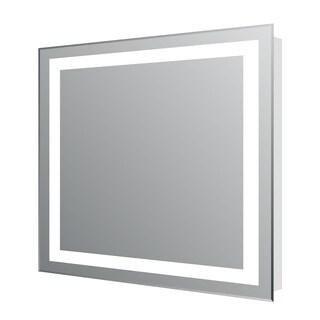 Eviva EVMR34-24X30-LED Lite Wall Mounted Modern Bathroom Vanity Backlit Lighted LED Mirror