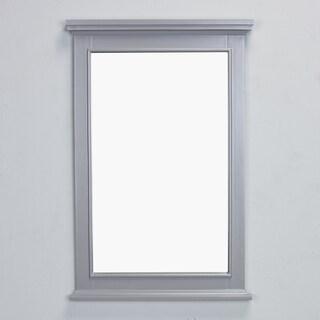 Eviva Elite Stamford Grey Full Framed Bathroom Vanity Mirror