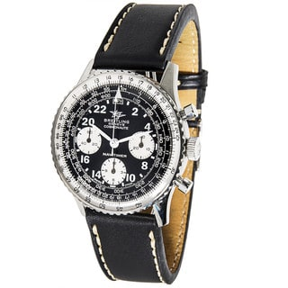 Pre-Owned Breitling Navitimer Cosmonaute Vintage 809 Mens Watch in Stainless Steel