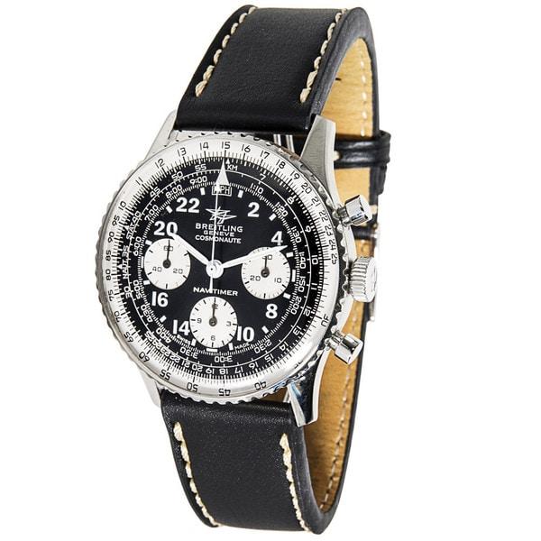 Shop Pre Owned Breitling Navitimer Cosmonaute Vintage Mens Watch In