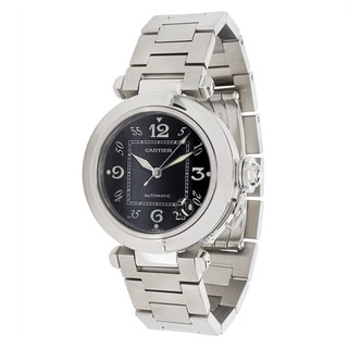 Pre-Owned Cartier Pasha W31076M7 Unisex Watch in Stainless Steel