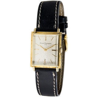 14k Yellow Gold Pre-Owned Girard Perregaux Vintage Unisex Watch