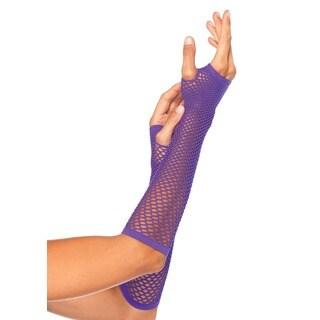 Leg Avenue Triangle Net Fingerless Gloves