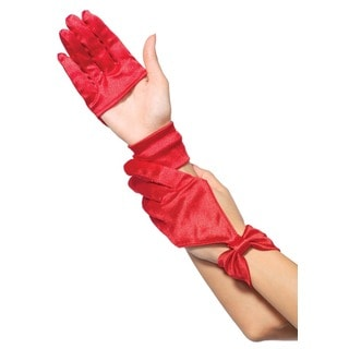 Leg Avenue Red Cut-out Gloves
