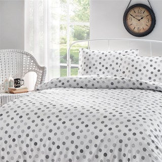 Brielle Circlets Printed Cotton Sateen Sheet Set