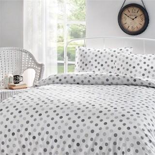 Brielle Circlets Printed Cotton Sateen Sheet Set