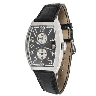 Pre-Owned Franck Muller Master Banker Stainless Steel 6850 MB Mens Watch