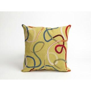 Wild Swirls Pillow (18 x 18) Set of 2