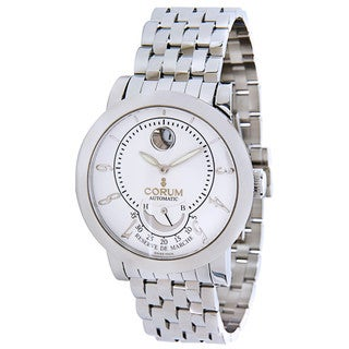 Pre-Owned Corum Reserve De March Stainless Steel 973.201.20 Mens Watch