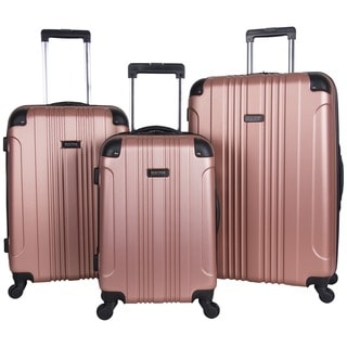 Link to Kenneth Cole Reaction Out Of Bounds 3-Piece Lightweight Hardside 4-Wheel Spinner Luggage Set Similar Items in Wheeled & Checked Luggage