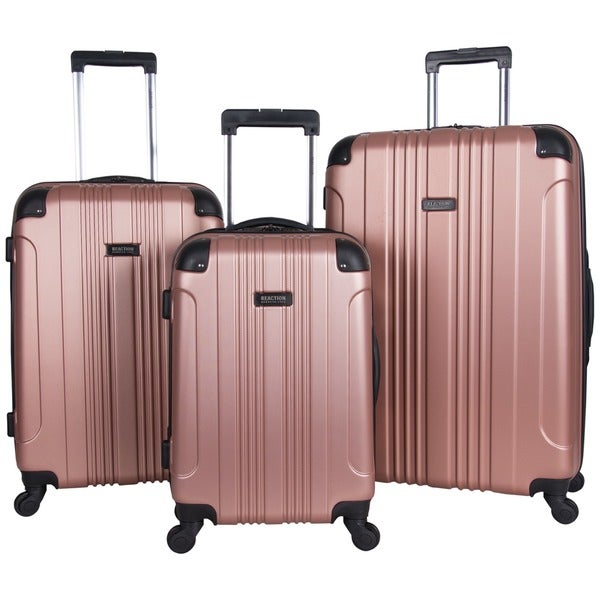 Kenneth Cole Reaction Out Of Bounds 3-Piece Lightweight Hardside 4-Wheel Spinner Luggage Set. Opens flyout.