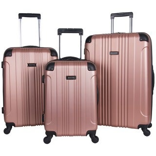 Kenneth Cole Reaction Out of Bounds 20in/24in/28in Lightweight Hardside 4-Wheel Spinner 3-Piece Luggage Set